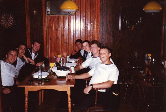 Aqaba Stokers Run ashore 1986