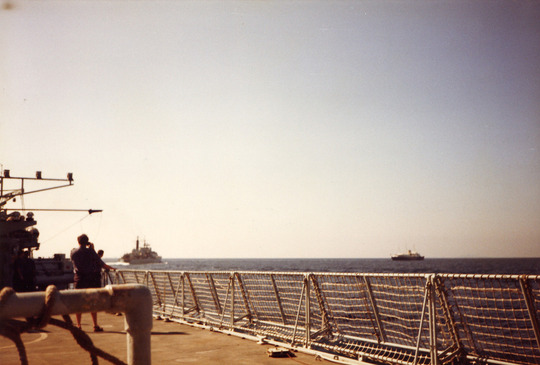 Gulf Patrol: HMY & Newcastle '85-86