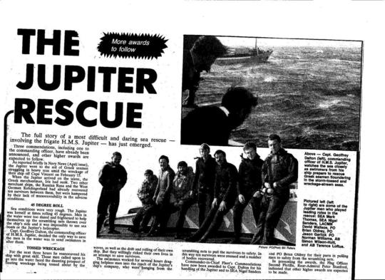 Newspaper cuttings supplied by Gabby Hayes
