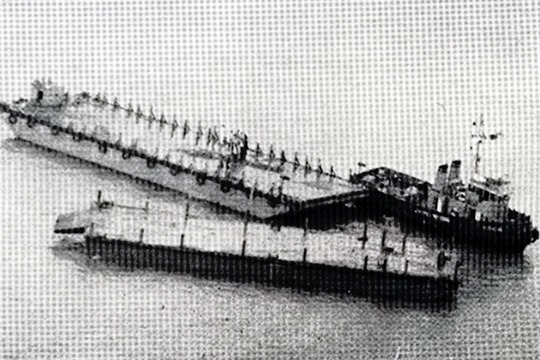 Tug Mediator aground
