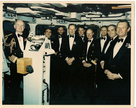 Final CO's Dinner April 1992