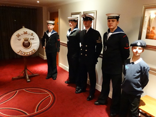 Sea Cadets ready for action!