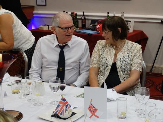 Chairman with Liz Chambers