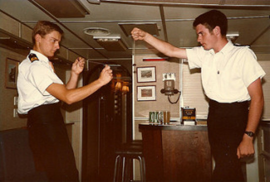 Conkers in the Wardroom