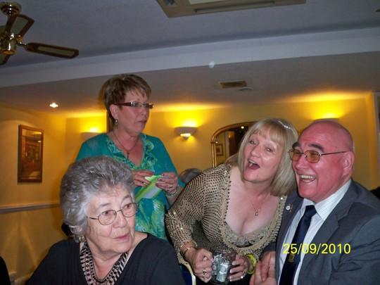 Pony Moore with his 'Ladies'