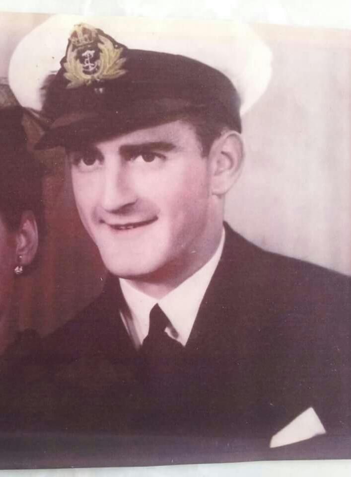 Lt. Robert Arthur Jones RANVR