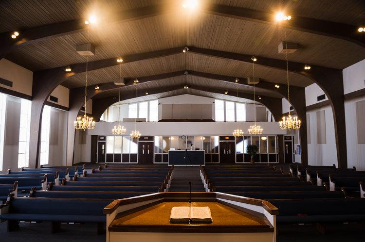 Huisache Baptist Church Sanctuary image San Antonio Texas