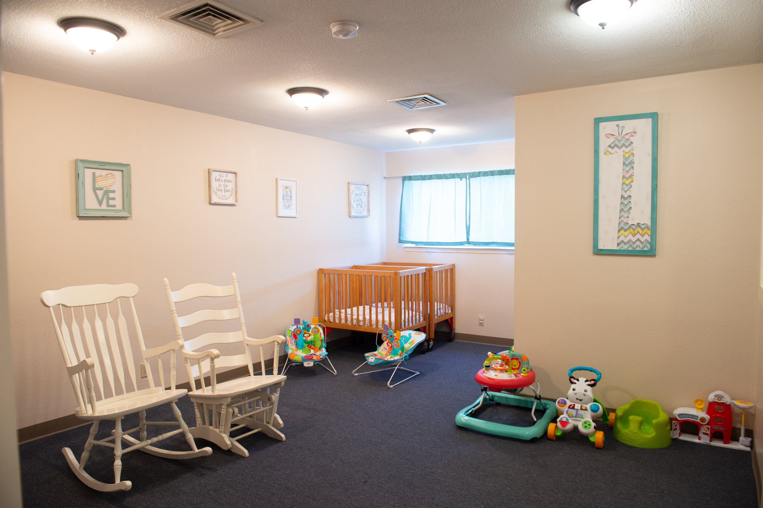 Our Infant Nursery - New Born to One Year Old