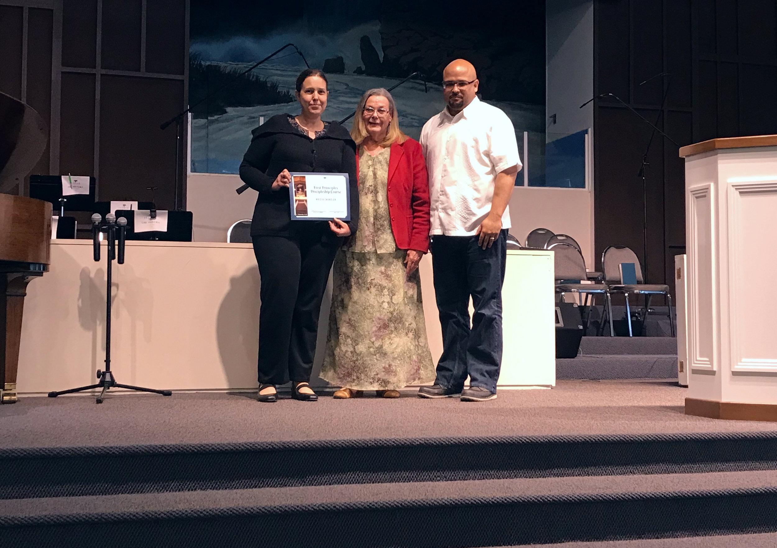 Congratulations - Krista!
