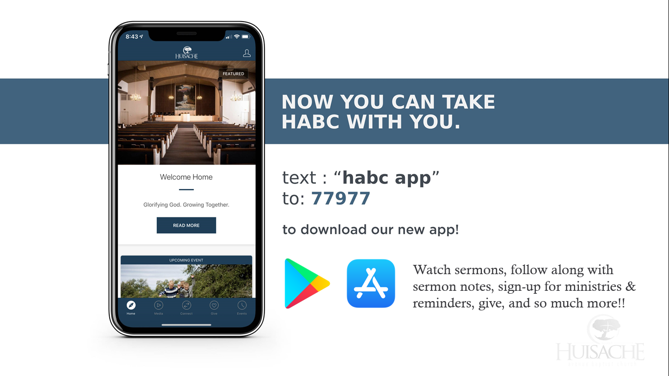 Connect with Us! - Follow us on Facebook @ www.Facebook.com/MyHABCClick here to download our app!The Apple App Store or the Google Play Store