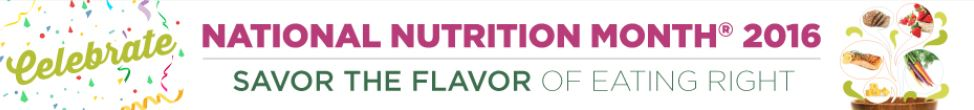 Check out more information on National Nutrition Month here.