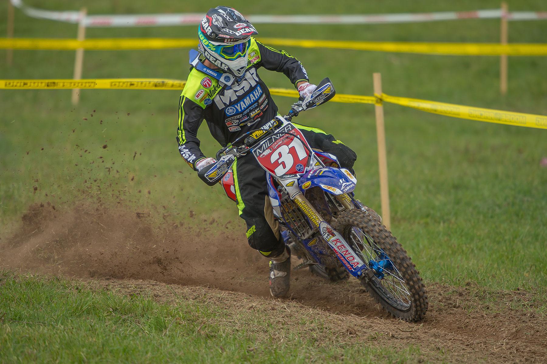 Daniel Milner was 2nd. Photo by Shan Moore.