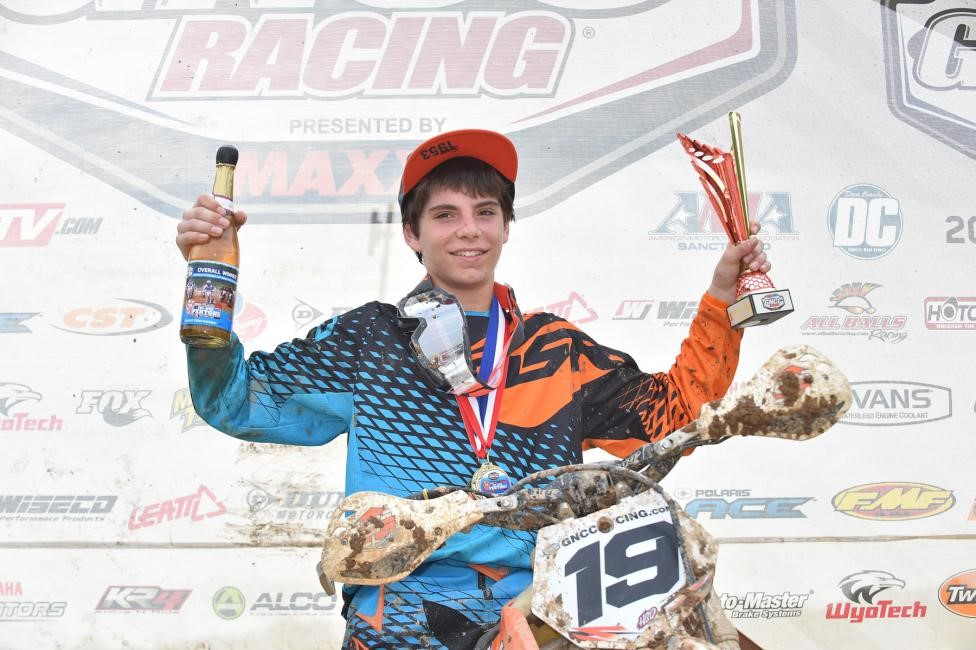 Hunter Riemer took home the youth overall win and extended his points lead in the National Championship standings. Photo: Ken Hill.