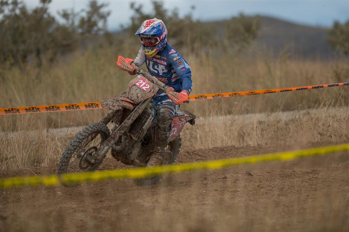 Taylor Robert led the U.S. team to victory in the 91st running of the ISDE in Spain.