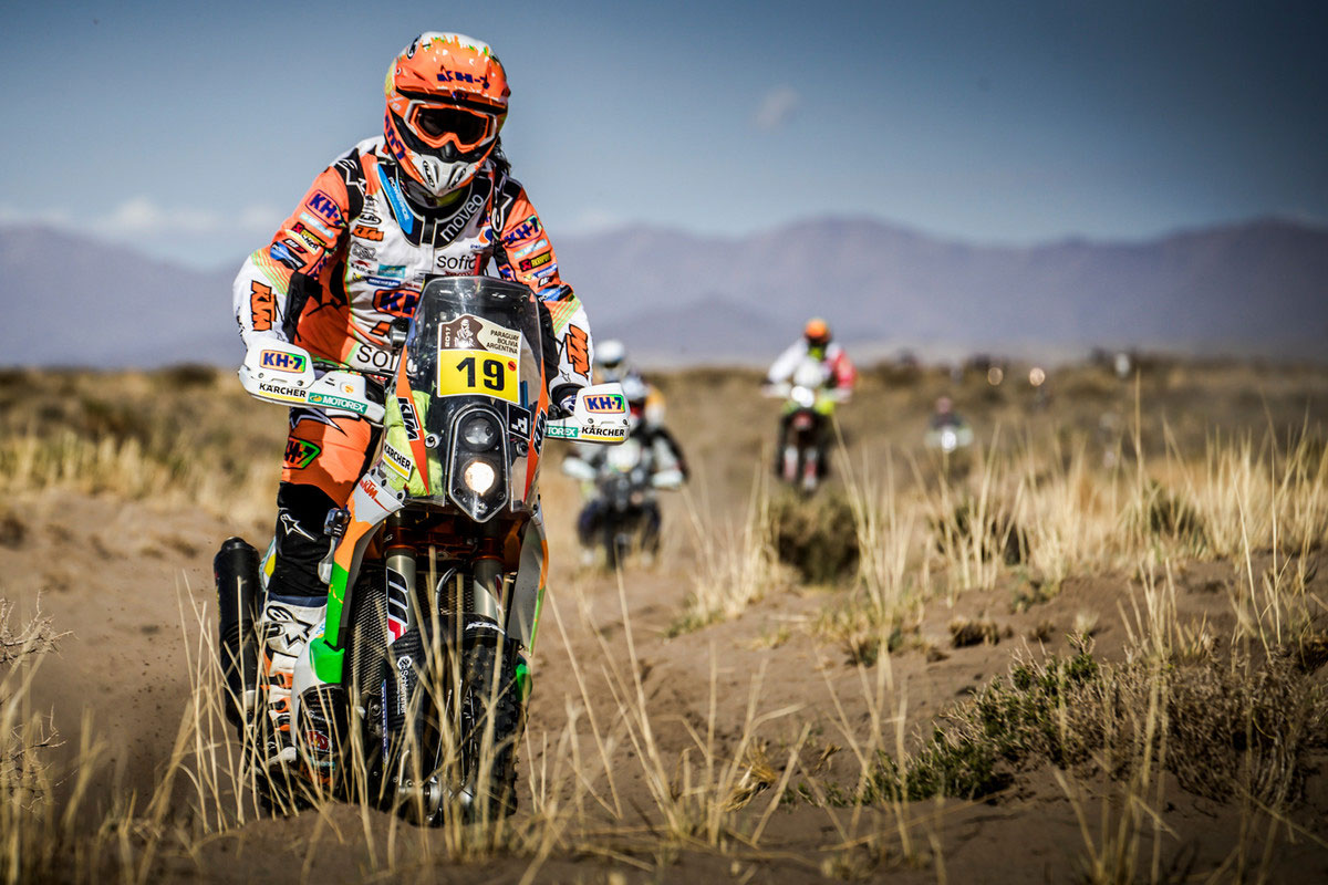 KTM factory rider Laia Sanz finished the day at overall 26th but said she started the day feeling 'strong and fast'.
