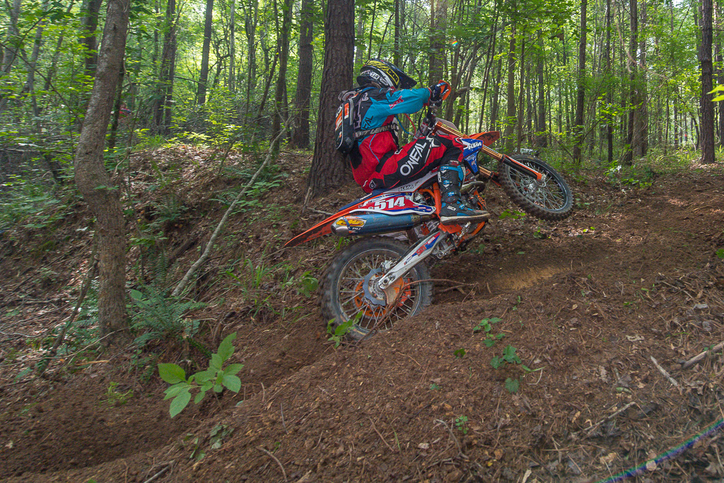 Winning the National Enduro Series and/or Full Gas Sprint Enduro series is Baylor's main focus in 2017. Photo: Shane Moore.