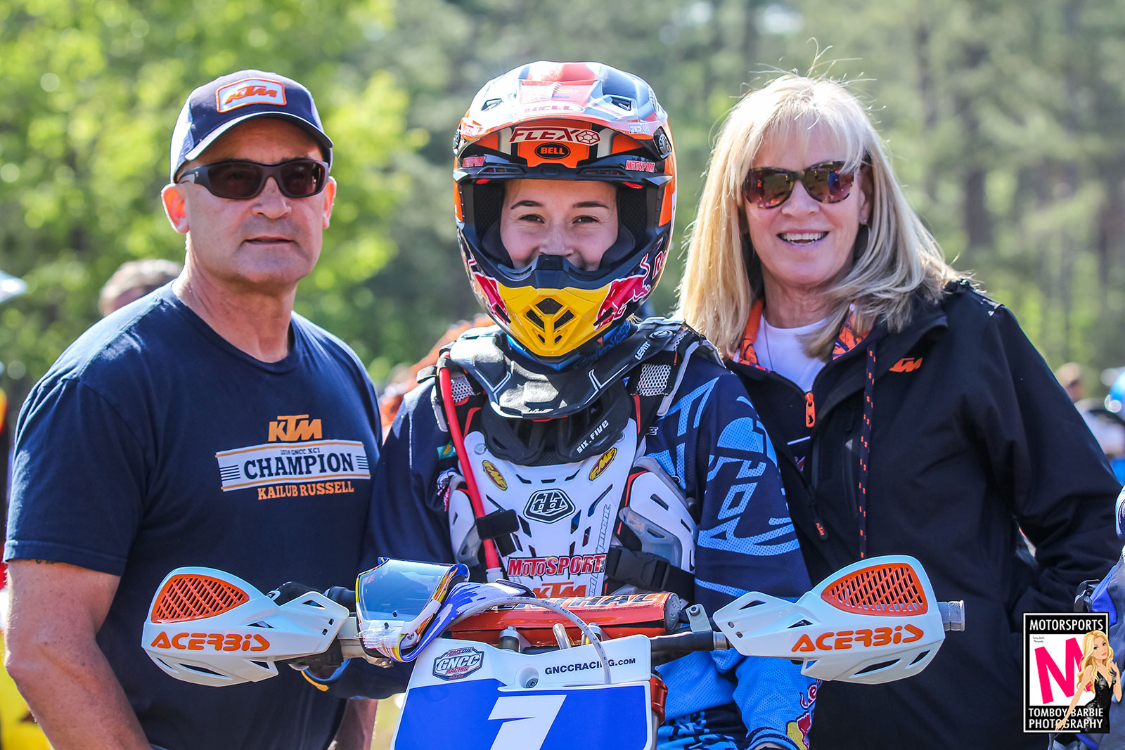 Continued support and guidance from her family and husband have helped Martinez achieve her goals throughout the years. Photo: Tomboy Barbie Photography.