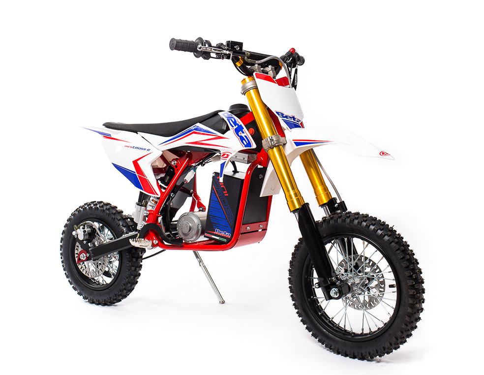"Beta recently announced the new Beta Minicross-E, which is designed to be an easy, off-road motorcycle for youngsters starting out. Photo: Beta USA.       Normal   0           false   false   false     EN-US   X-NONE   X-NONE                                                                                                                                                                                                                                                                                                                                                                                                                                                                                                                                                                                                                                                                                                                                                                                                                                                                       /* Style Definitions */  table.MsoNormalTable 	{mso-style-name:""Table Normal""; 	mso-tstyle-rowband-size:0; 	mso-tstyle-colband-size:0; 	mso-style-noshow:yes; 	mso-style-priority:99; 	mso-style-parent:""""; 	mso-padding-alt:0in 5.4pt 0in 5.4pt; 	mso-para-margin:0in; 	mso-para-margin-bottom:.0001pt; 	mso-pagination:widow-orphan; 	font-size:10.0pt; 	font-family:""Times New Roman"",serif;}"