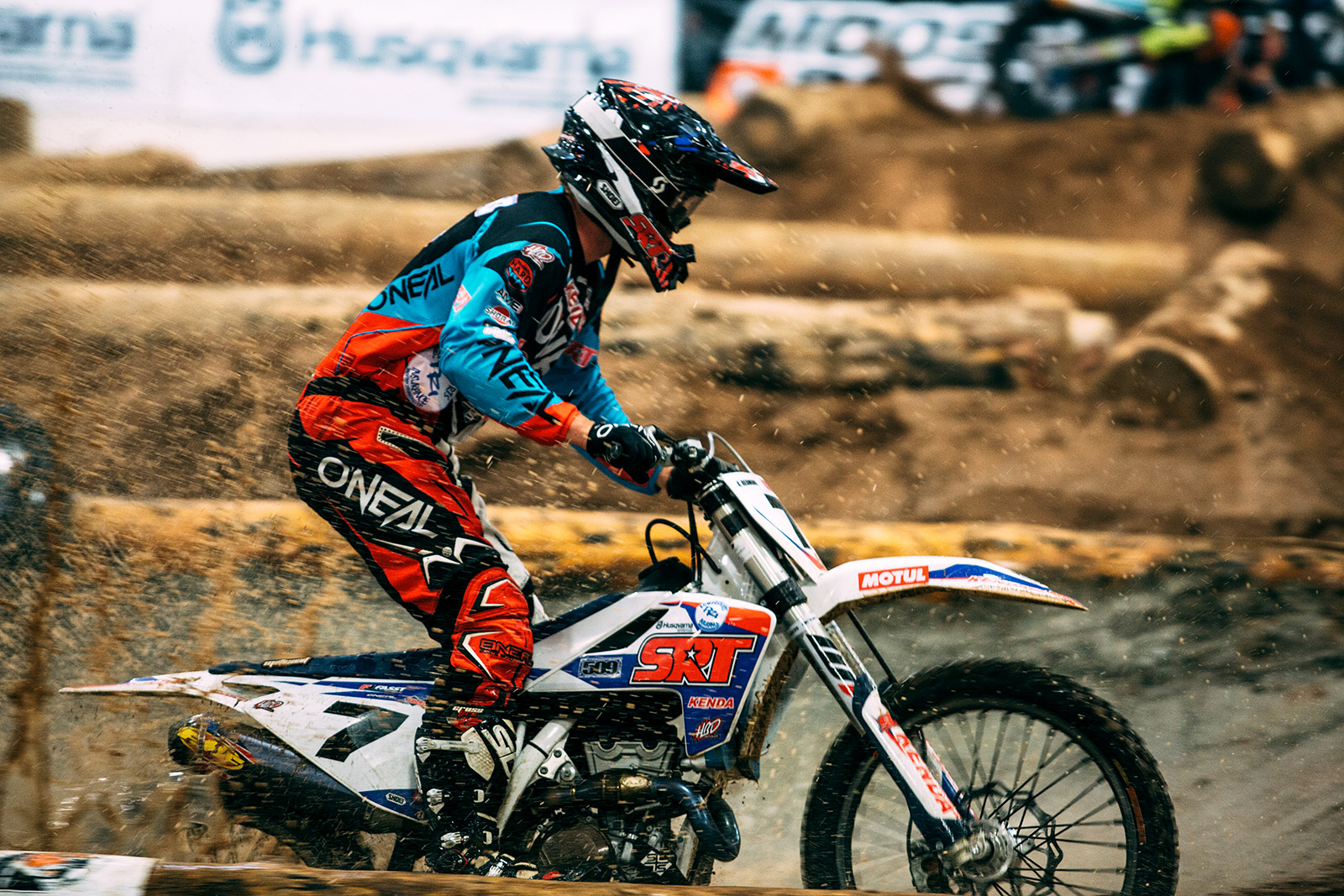 Redmond finished 4th in the 2017 EnduroCross Series, eight points out of third and nine points from second. Photo: Tanner Yeager.