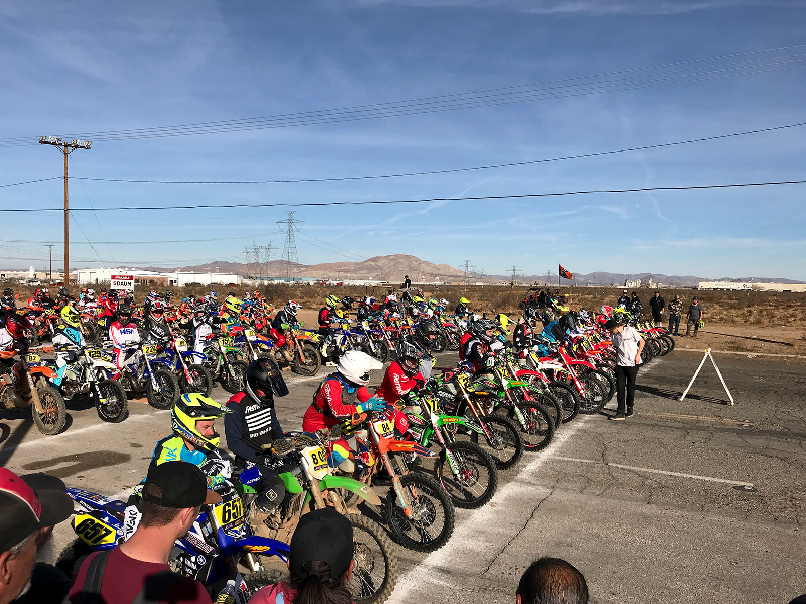 The depth of the Pro class field was impressive with nearly ten riders capable of winning.