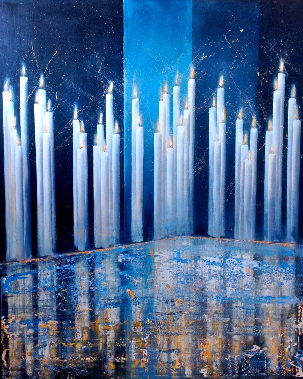 Lys  Maleri 122 x 175 cm