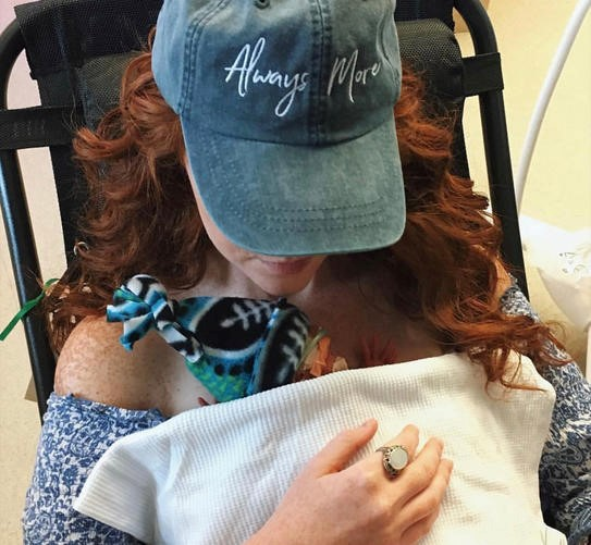"""(""""Always More""""hat from my dear friend Audrey. """"Always More"""" derived from Ephesians 3:20.. This also was a daily reminder of the MORE that Christ could do in our lives .)"""