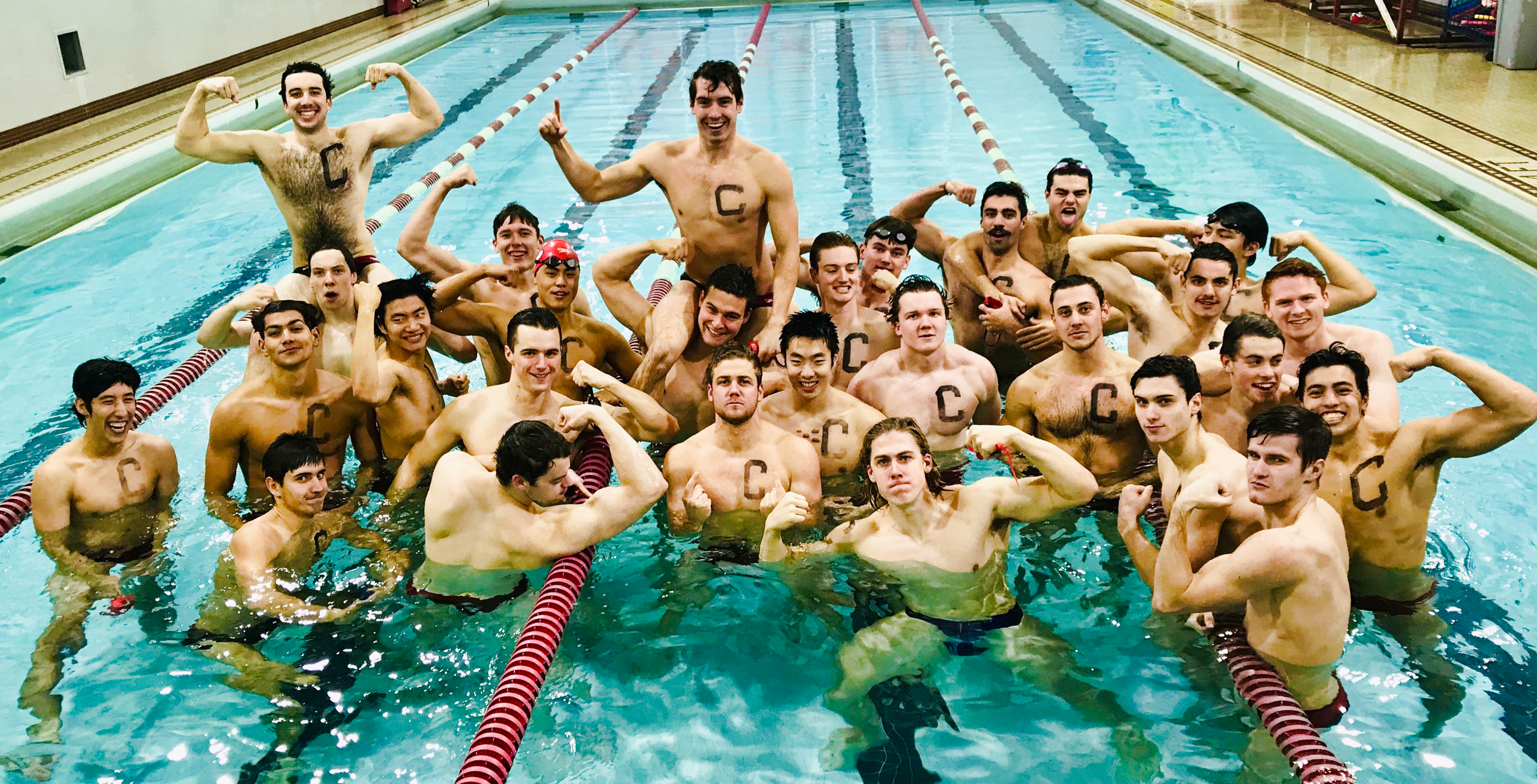 2018-2019 Cornell Men's Swim Team