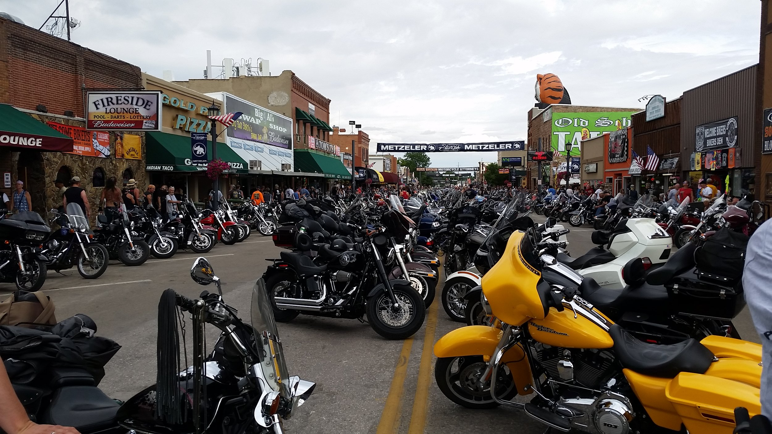 // Preparing for 'work' at Sturgis Motorcycle Rally • Sturgis, SD, 2016 //