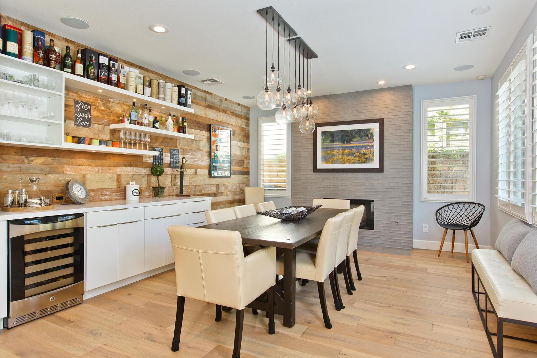 Carmel Valley Rustic Modern Kitchen