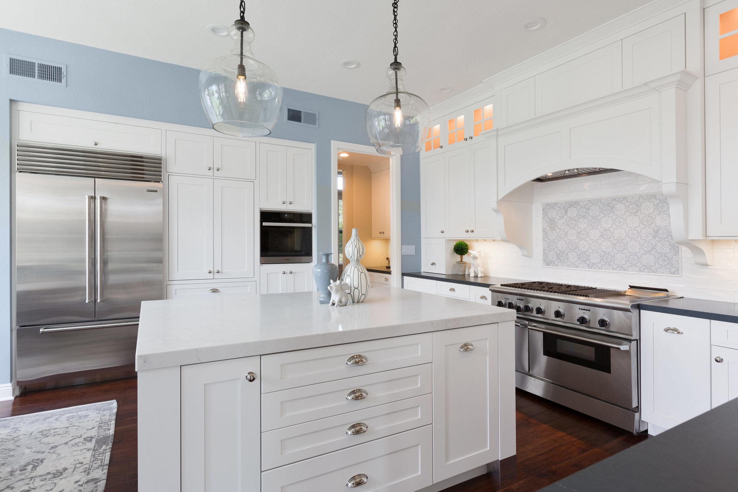 Carlsbad White Shaker Kitchen