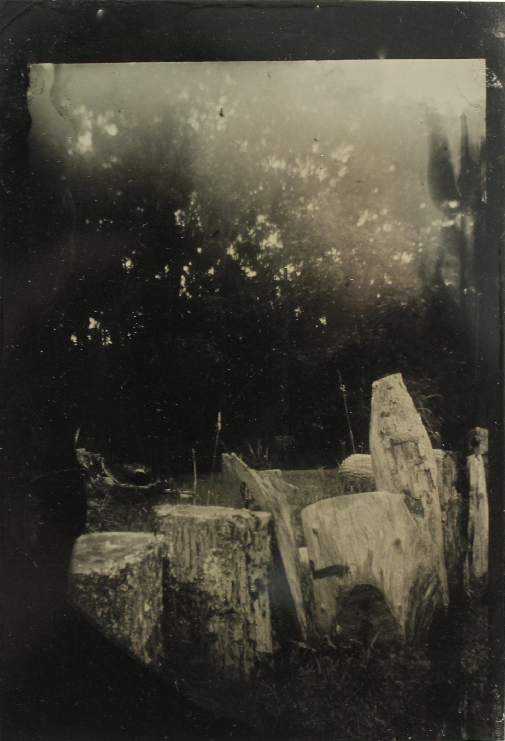 Remains  tintype, 2017