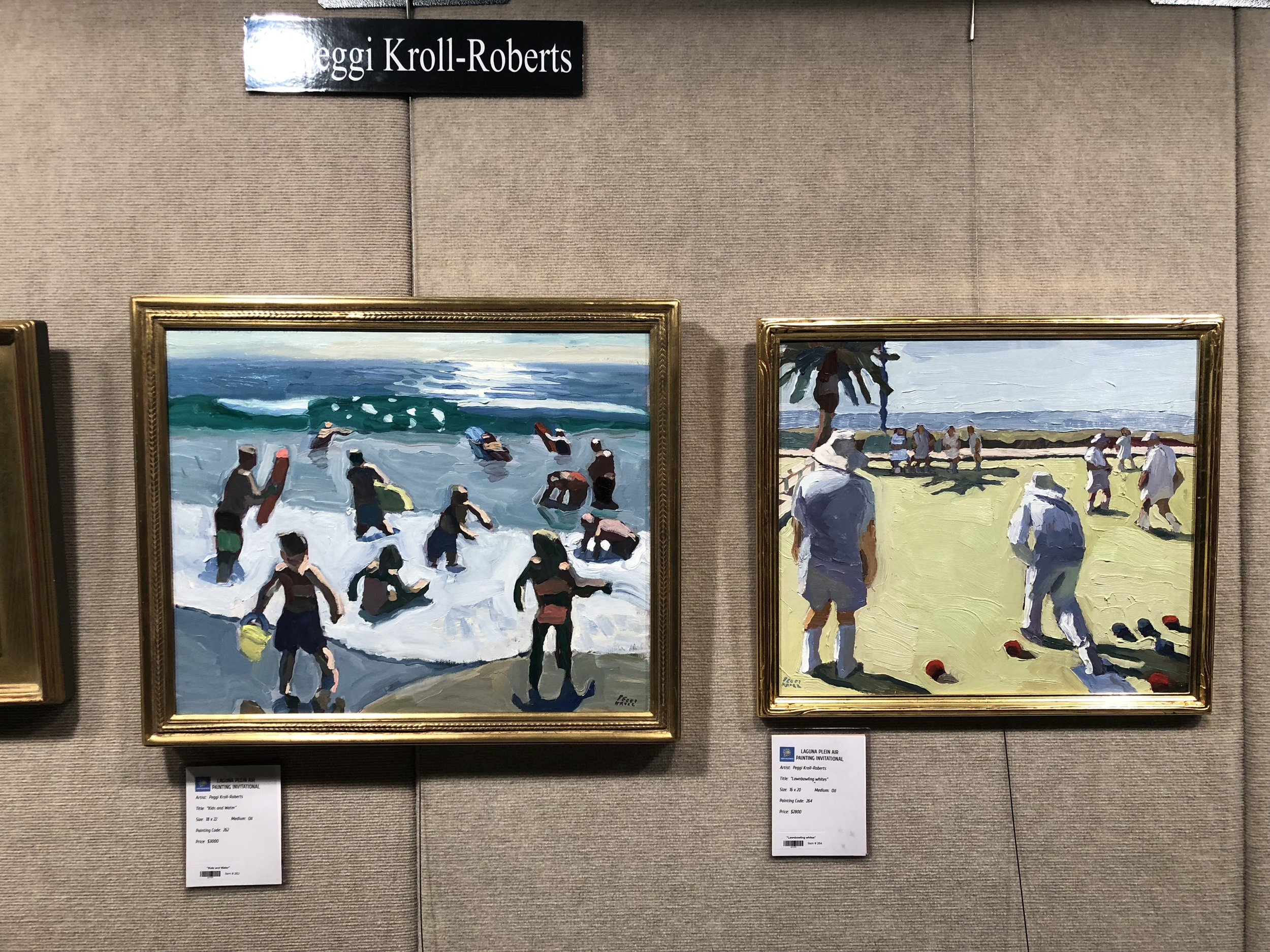 Paintings by Peggy Kroll-Roberts
