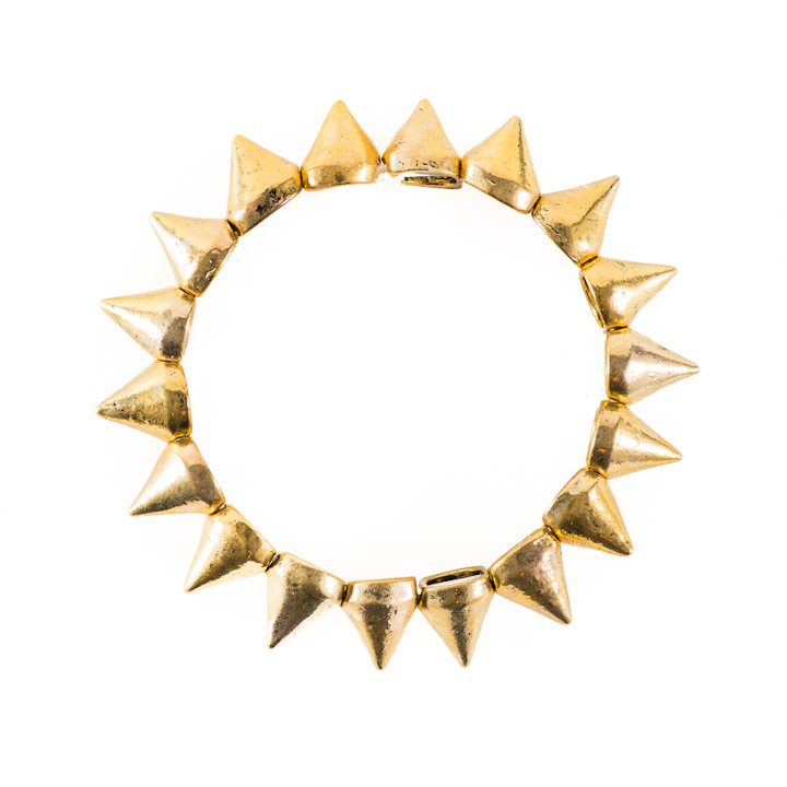 Shut Up I Love This Birds of a Feather Gold Pyramid Bracelet