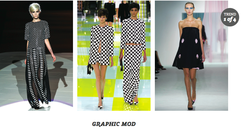 Partly Sunny Clearly Contacts Graphic Mod Eyewear Spring 2013 Trends