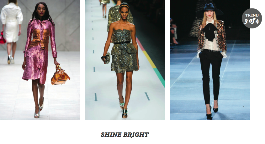 Partly Sunny Clearly Contacts Shine Bright Eyewear Spring 2013 Trends