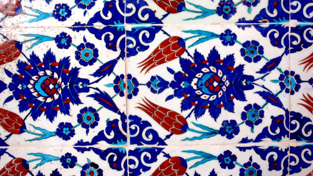 Partly Sunny Traditional Turkish Tiles