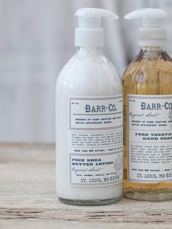 Partly Sunny Barr Co Hand Lotion Soap