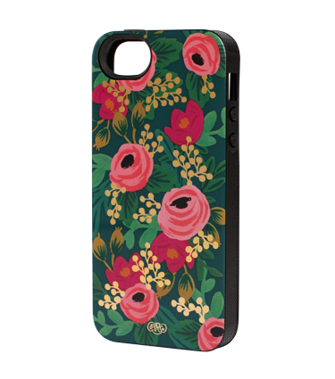Shut Up I Love This Rifle Iphone Rosa Floral Case