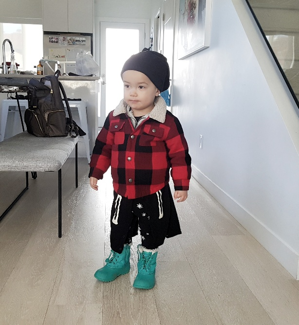 He wanted to pick his own outfit.