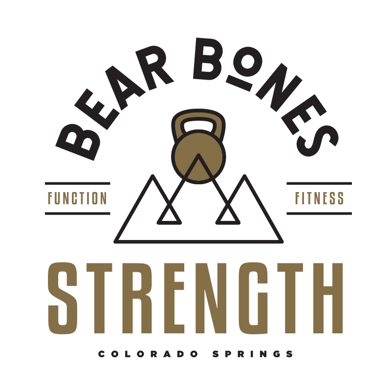 Bear Bones Strength Logo