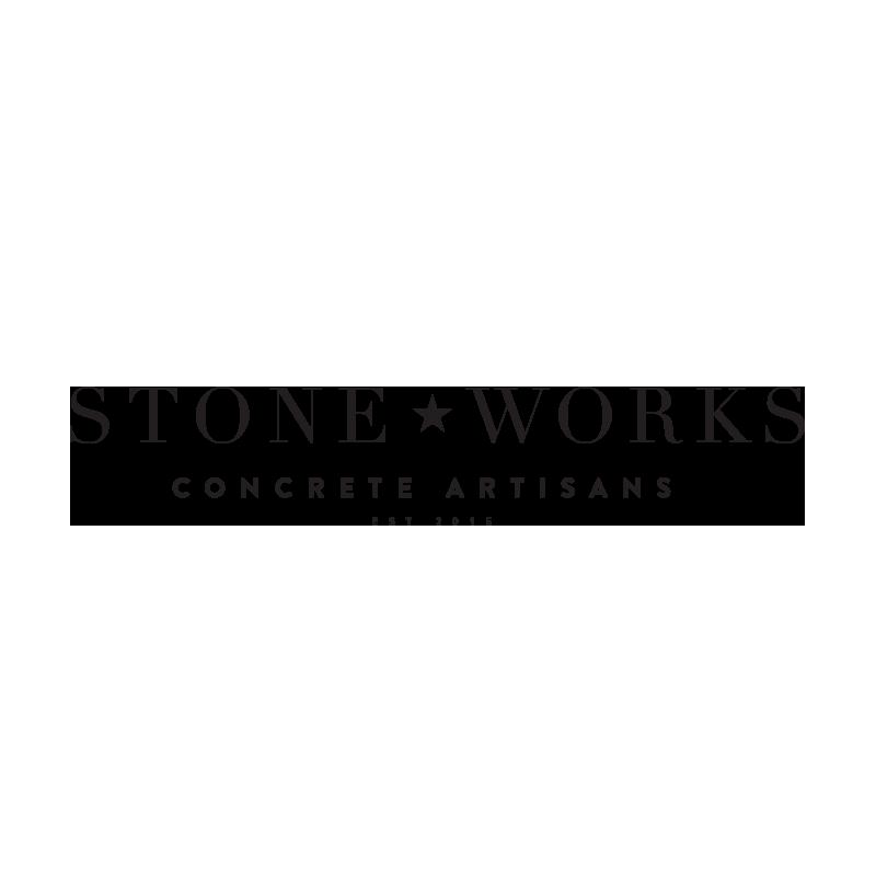 Stoneworks Concrete Artisans Logo