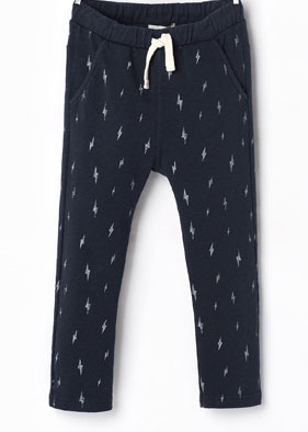 Zara-Plush Lightning Trousers