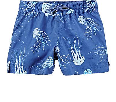 SUNUVA: Jellyfish-Print Swim Trunks