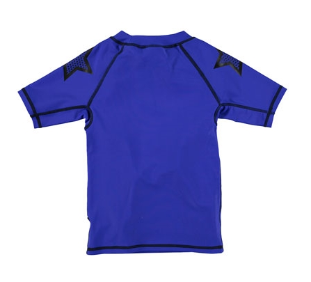 MOLO Short-Sleeve Rashguard Tee, Vibrant Blue