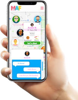 Making Authentic Friendships app