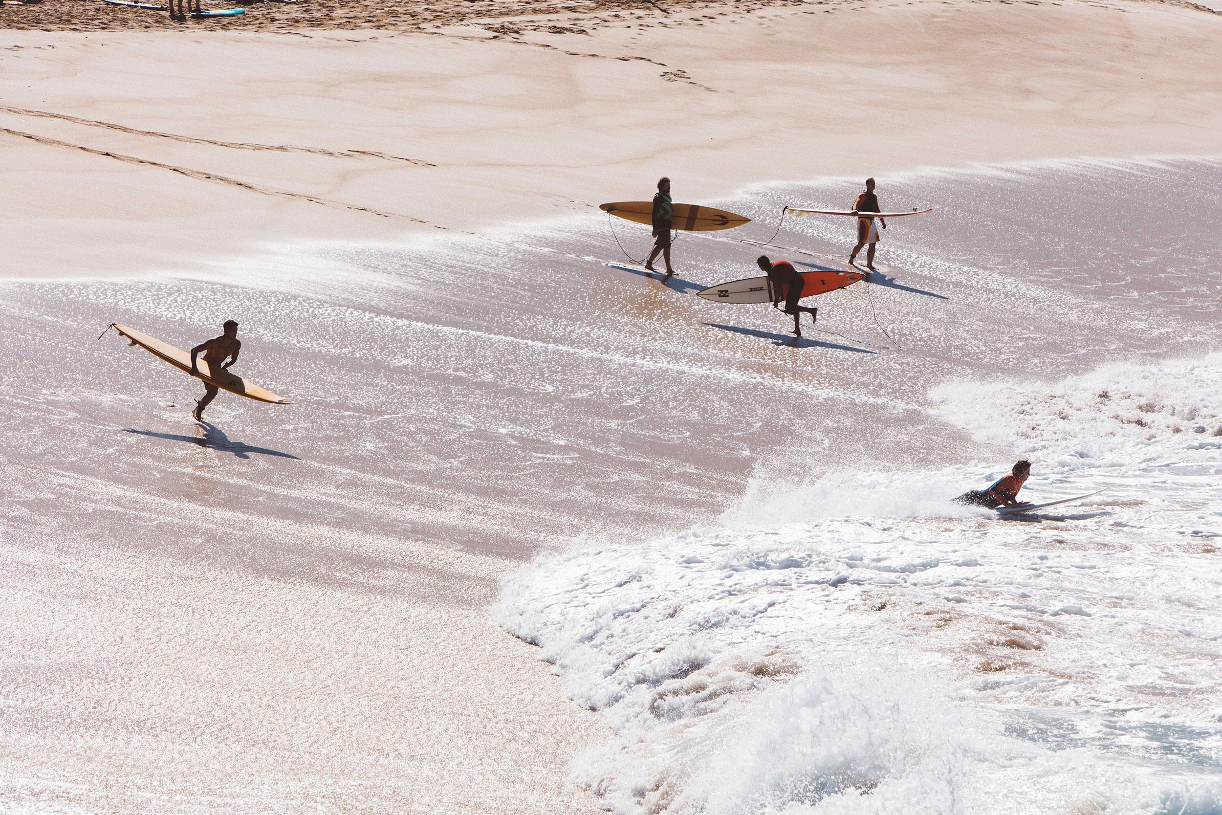 Waimea surfers 2016