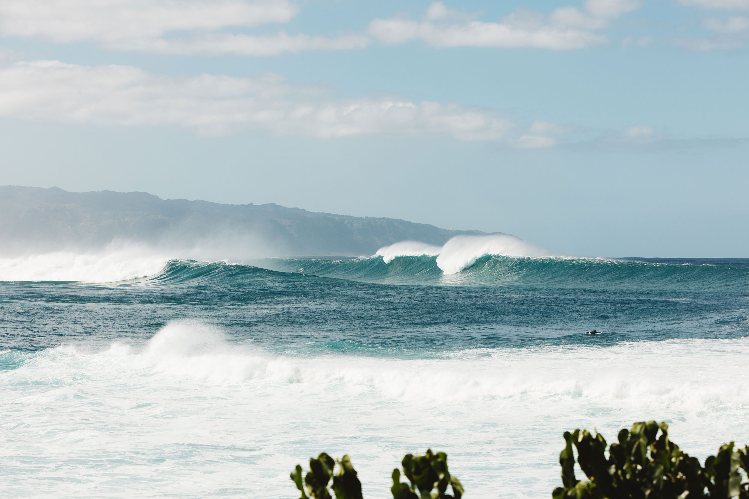 Waimea big waves