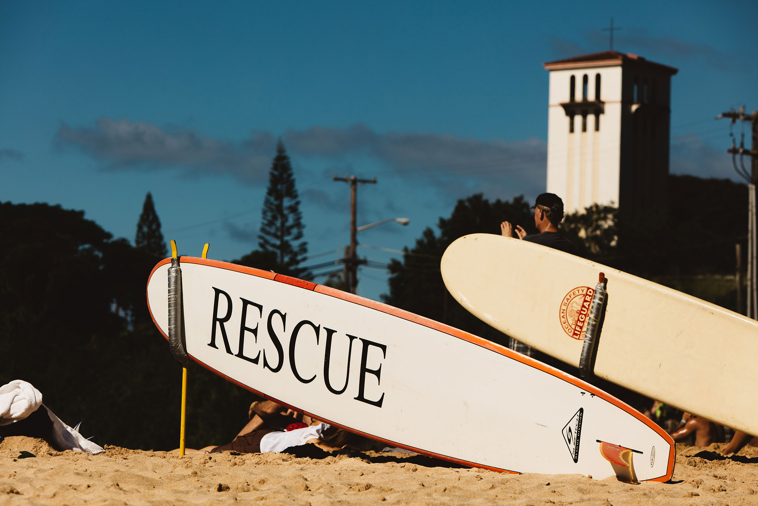 Waimea surf rescue