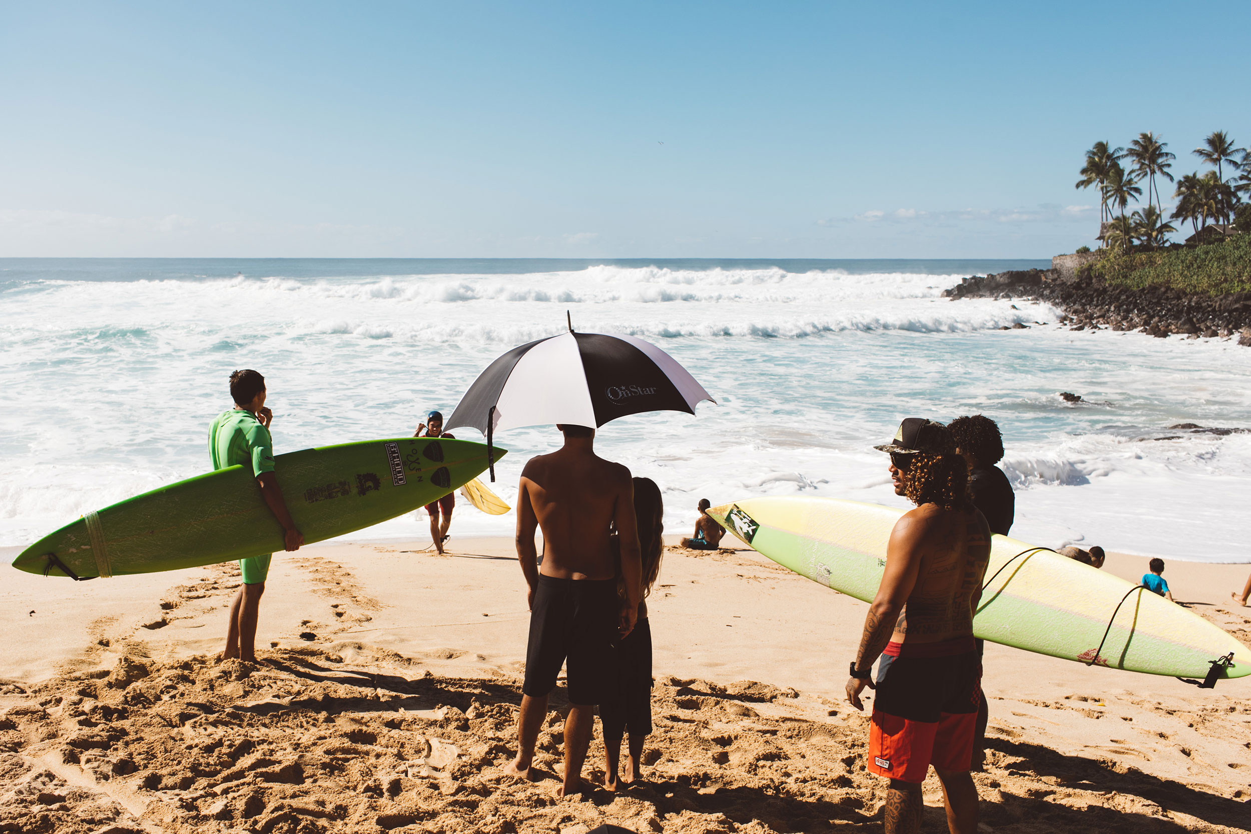 Waimea Locals big wave surfers