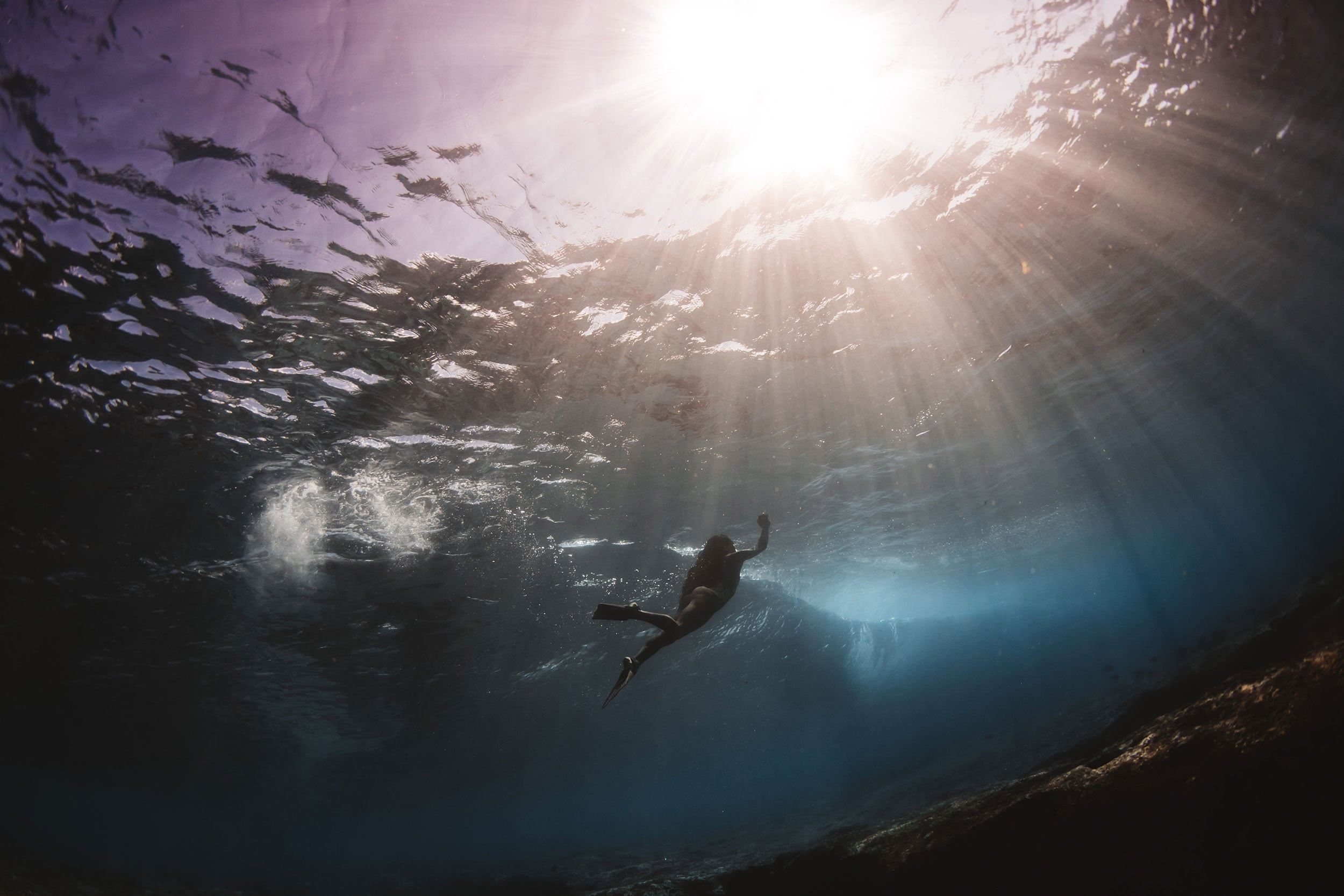 model below the waves - matt porteous